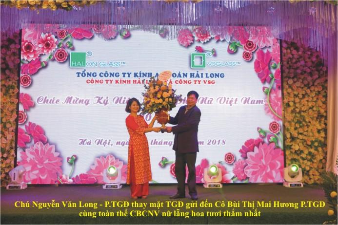 Kính an toàn Hải Long - Kính an toàn VSG Chúc mừng ngày phụ nữ Việt nam