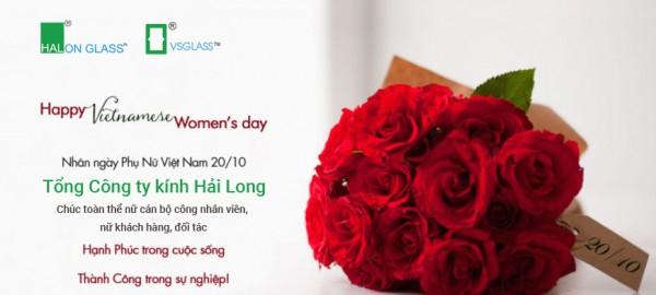 Chúc mừng ngày phụ nữ Việt Nam 20 - 10 - 2020