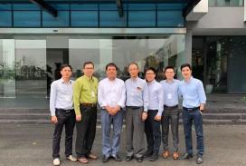 ĐẠI DIỆN AGC - tập đoàn hàng đầu thế giới của Nhật Bản trong lĩnh vực kính đến thăm và làm việc tại nhà máy VSG